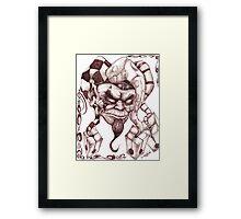 Joker's Wild Framed Print