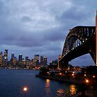 Across to Circular Quay by contagion