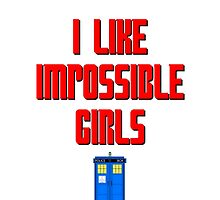 I like impossible girls - Doctor Who Clara by River-Pond