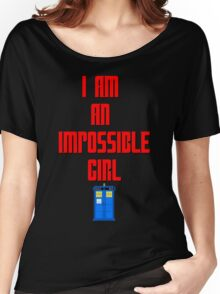 I am an impossible girl - Doctor Who Clara Women's Relaxed Fit T-Shirt