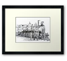 Frisco Locomotove 1920 Framed Print