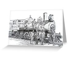 Frisco Locomotove 1920 Greeting Card