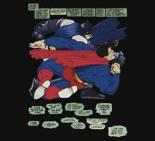 Batman punches Superman T-Shirt