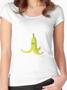 Banana Peel Women's Fitted Scoop T-Shirt