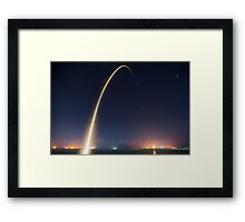 SpaceX CRS-4 Framed Print