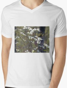 Flowering Dogwood Mens V-Neck T-Shirt