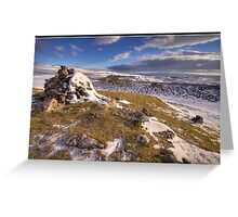Conistone Cairn Greeting Card