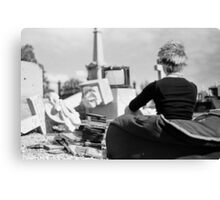 Just one more life Canvas Print