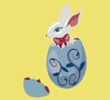 Bunny Inside a Cracked Egg Kids Clothes