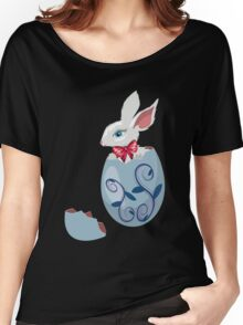 Bunny Inside a Cracked Egg Women's Relaxed Fit T-Shirt