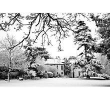 A winter scene Photographic Print
