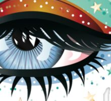 Carnival Eyes Sticker