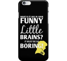 Sherlock Funny Little Brains iPhone Case/Skin