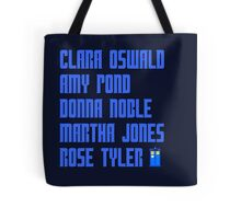 The Doctor's girls Tote Bag