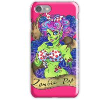 Zombie Pop! iPhone Case/Skin
