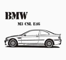 BMW M3 E46 Kids Clothes