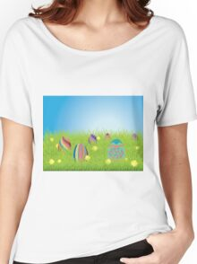 Colored Easter Eggs 2 Women's Relaxed Fit T-Shirt