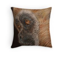 Gibbon Throw Pillow