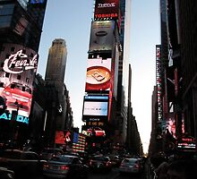 Setting Times Square by KensLensDesigns