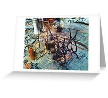 The day after (v) Greeting Card