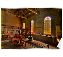 Light Room - State Mining HIstorical Park ,Lithgow NSW - The HDR Experience Poster