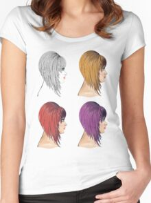 Hair Bob 2 Women's Fitted Scoop T-Shirt