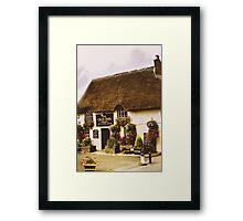 The Old Inn Framed Print