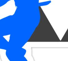 Smash Bros - Sheik Sticker