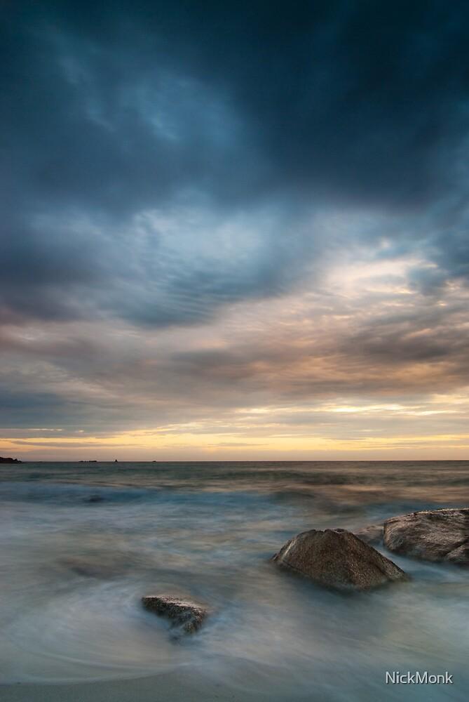 Dawn, Bay of Fires, Tasmania by NickMonk