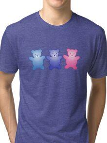 Cute Little Teddy Bears Tri-blend T-Shirt