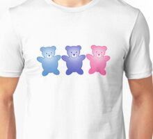Cute Little Teddy Bears Unisex T-Shirt