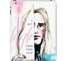 High from your love  iPad Case/Skin