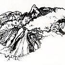 Landscape, Wilson's Promontory by Roz McQuillan