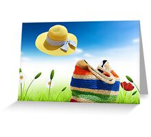 summer  times  Greeting Card