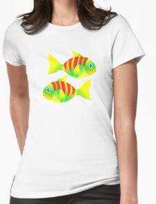 FISHY T-Shirt Womens Fitted T-Shirt