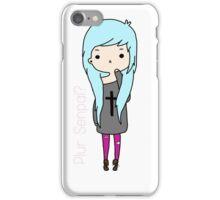 Plur Senpai? iPhone Case/Skin