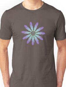 Feather Daisy Flower Unisex T-Shirt