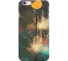 Christmas Sparkler 4 iPhone Case/Skin
