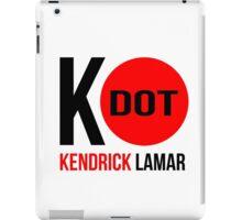"""K - Dot Kendrick Lamar"" Red Dot iPad Case/Skin"
