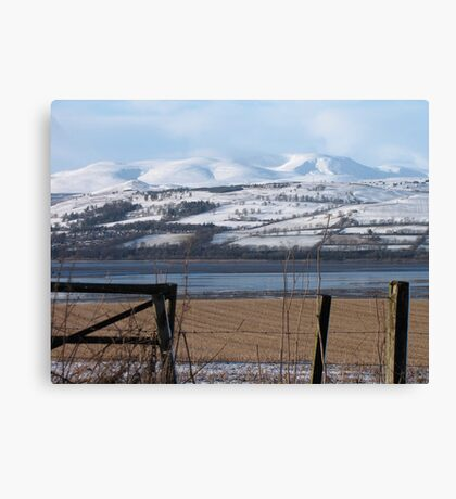 Ben Wyvis from the Black Isle Scotland Canvas Print