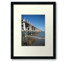 Jetty View Framed Print