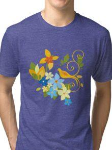 Vector Bird Tri-blend T-Shirt