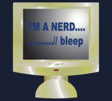 I'M A NERD T-Shirt by Orla Cahill