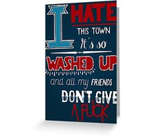 A Day To Remember - All Signs Point To Lauderdale Greeting Card