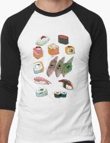Sushi set Men's Baseball ¾ T-Shirt