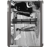 """Collector, On the Way to M.Cartier Bresson """" Careless passers and dangerous game boy !  """" Paris 1975 15 (b&n)(t) by Olao-Olavia par Okaio Création  iPad Case/Skin"""