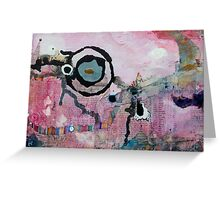 Dream Painting Greeting Card
