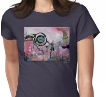 Dream Painting Womens Fitted T-Shirt