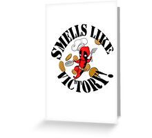 smells like victory! Greeting Card