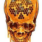 Yellow Skull by zaki hamdani